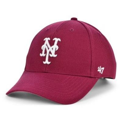 47ブランド レディース 帽子 アクセサリー New York Mets Cardinal MVP Cap Cardinal Red
