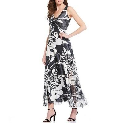 コマロフ レディース ワンピース トップス Printed Midi Dress