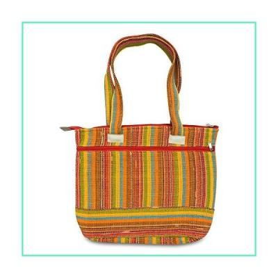 Colorful Handmade Bag - Cotton Shoulder Bag - Boho Hippie Bag For Women - Lightweight, Durable Handbag for Tablet, Laptop, Books, Wallets - Casual Boh