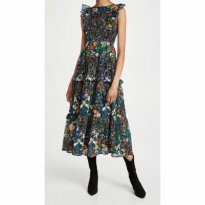 バンジャナン Banjanan レディース ワンピース ワンピース・ドレス Iris Dress Black