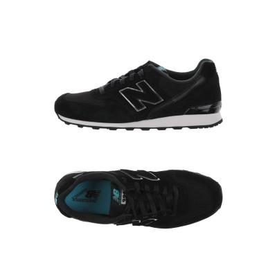 ニュー・バランス NEW BALANCE スニーカー&テニスシューズ(ローカット) ブラック 10 革 / 紡績繊維 スニーカー&テニスシューズ(ロ