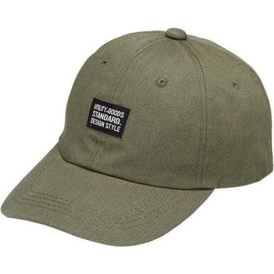 [キーズ] 帽子 キャップ メンズ レディース シンプル ベースボールキャップ 綿 ワッペン 春 夏 秋 冬 KSH152 オリーブ 日本 55-61