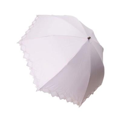Geecle Japan(ギークルジャパン) ギークルジャパン 折りたたみ傘 一級遮光 裾オーガンジー ベージュ