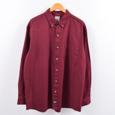 ディッキーズ Dickies 長袖 ワークシャツ メンズXL /eaa005188