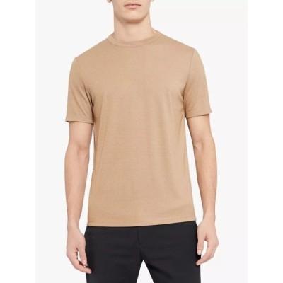 セオリー Tシャツ メンズ トップス Theory Essential T-Shirt, Natural