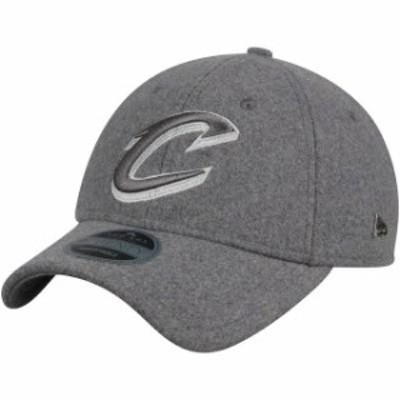 New Era ニュー エラ スポーツ用品  New Era Cleveland Cavaliers Gray Cashmere Black Label Series 9TWENTY Adjustable Hat