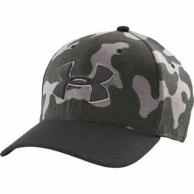アンダーアーマー ハット Under Armour Closer Stretch Fit Hat 2.0 Artillery Grn/Tan Stone