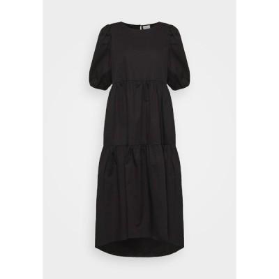 ヴィラ ワンピース レディース トップス DONNA  - Day dress - black