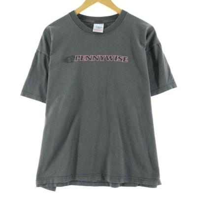 SCREEN STARS by FRUIT OF THE LOOM スクリーンスターズ by フルーツオブザルーム PENNYWISE ペニーワイズ バンドTシャツ L /eaa079981