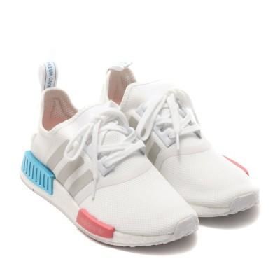 アディダス adidas スニーカー NMD_R1 W (FOOTWEAR WHITE/GRAY ONE/HAGE ROSE) 21SS-I