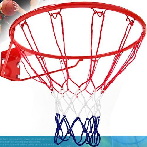 標準18吋金屬籃球框(含籃網)標準籃框架B004-1816耐用籃筐架子籃球網Basketball hoop金屬籃架