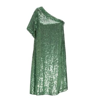 パロッシュ P.A.R.O.S.H. ミニワンピース&ドレス グリーン S レーヨン 100% / ポリ塩化ビニル ミニワンピース&ドレス