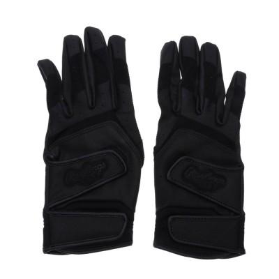 ローリングス Rawlings 野球 バッティング用手袋 <両手用>ハイスクール ダブルベルト EBG9S02-B J00620636
