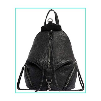 【新品】Rebecca Minkoff Mini Julian Backpack, BLACK(並行輸入品)