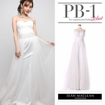 JEANMACLEAN ドレス ジャンマクレーン キャバドレス ナイトドレス ドレス jean maclean ホワイト 白 9号 M 71074 クラブ スナック キャバ