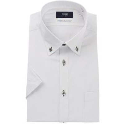 【半袖】【Smart Biz Active+】【ボタンダウン】スタイリッシュワイシャツ