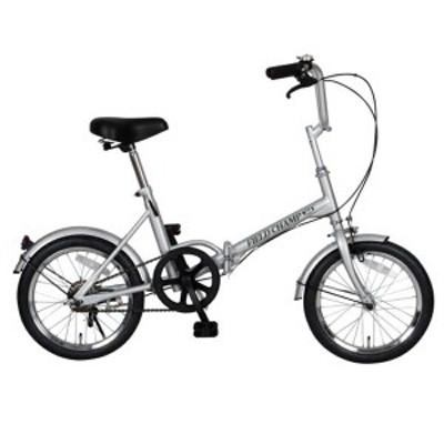 送料無料 FIELD CHAMP 折りたたみ自転車 軽量・コンパクト 16インチ FTB16 NO72750 メーカー直送・代金引換不可・キャンセル不可