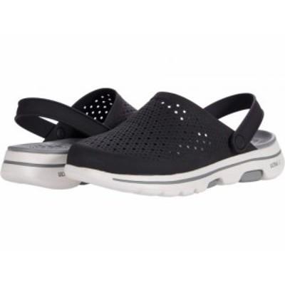SKECHERS スケッチャーズ メンズ 男性用 シューズ 靴 クロッグ Cali Gear Go Walk 5 Astonished Black/Gray【送料無料】