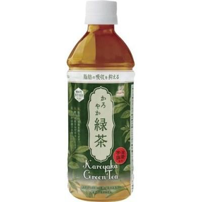 神戸居留地かろやか緑茶 500ml ペット (500ml*24本入)