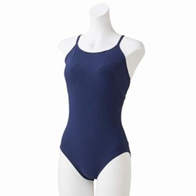 Speedo(スピード) 水着 Refined Open Crossback Suit リファインドオープンクロスバックニースキン 水泳 レディース SFW01921 ナイト S