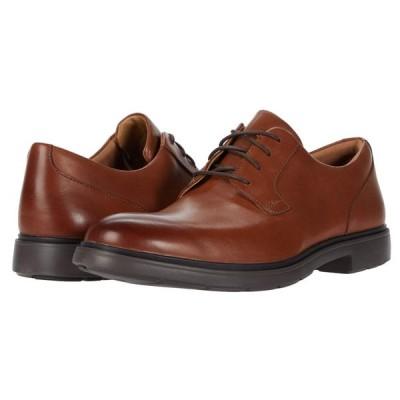 クラークス Clarks メンズ 革靴・ビジネスシューズ シューズ・靴 Un Tailor Tie Tan Leather