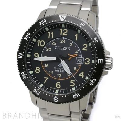 シチズン プロマスター LAND 腕時計 メンズ エコドライブ SS ブラック文字盤 BJ7094-59E CITIZEN 未使用品