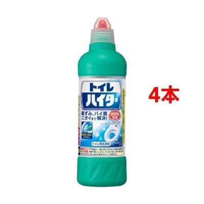 除菌洗浄トイレハイター トイレ用洗剤 ( 500ml*4本セット )/ ハイター