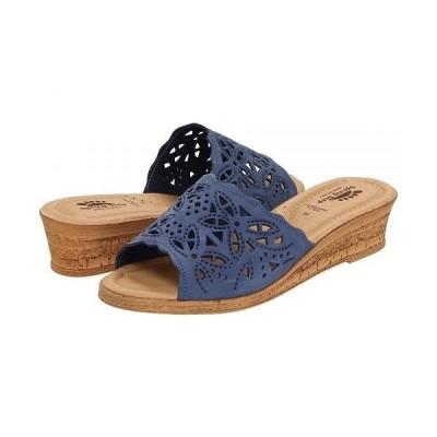 Spring Step スプリングステップ レディース 女性用 シューズ 靴 ヒール Estella - Blue
