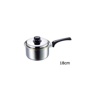 タマハシ  (MT-18S)「マイクレスト」片手鍋18cm