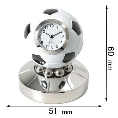 ミニチュアクロック Miniature Clock Collectionミニチュア置時計 サッカーボール C3583 返品種別B