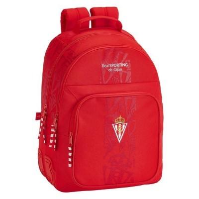 ソフタ バックパック・リュックサック メンズ バッグ Safta Sporting Gijon Corporate Double 20.2L Red