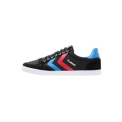 ヒュンメル スニーカー メンズ シューズ SLIMMER STADIL - Trainers - black/blue/red