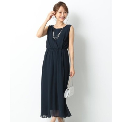 any SiS エニィスィス アシメタックミディー ドレス