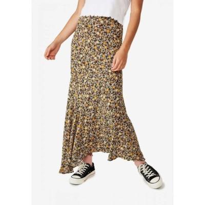 コットンオン Cotton On レディース ロング・マキシ丈スカート スカート Tahli Maxi Skirt Liz Multi Floral Black