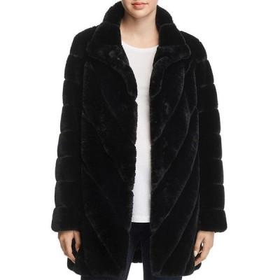 カルバンクライン レディース ジャケット・ブルゾン アウター Faux Fur Teddy Coat