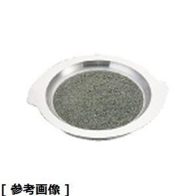 TKG (Total Kitchen Goods) QIS181 アルミ枠付長水石焼S型プレート(WS-225)