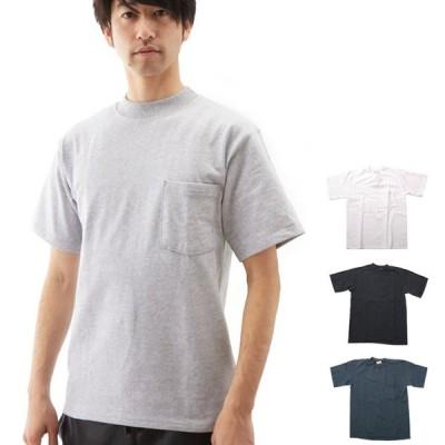 Tシャツ グッドウェア GOOD WEAR メンズ 無地 丸首 クルーネック 定番 コットン 綿 MADE IN USA アメリカ製 クラシック ポケット 半袖Tシャツ カットソー