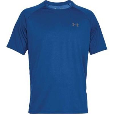 アンダーアーマー メンズ Tシャツ トップス Under Armour Men's UA Tech 2.0 SS Tee Royal / Graphite