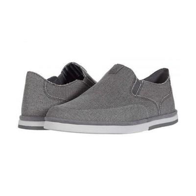 Rockport ロックポート メンズ 男性用 シューズ 靴 ローファー Austyn Slip-On - Steel Grey Canvas