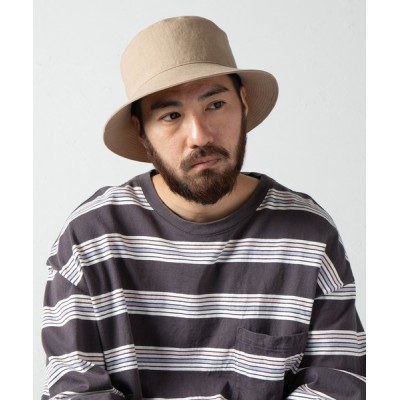Ray's Store / Linen Canvas Standard Bucket Hat / リネンキャンバスバケットハット MEN 帽子 > ハット