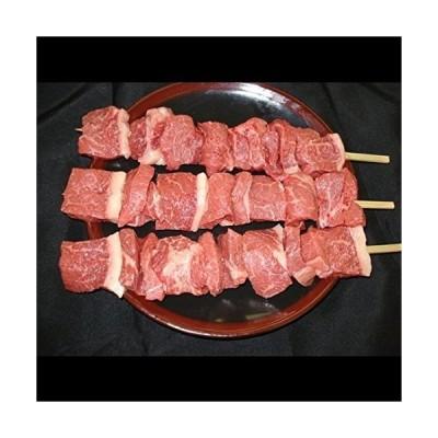 バーベキュー串焼用国産牛モモ1本(約150g)