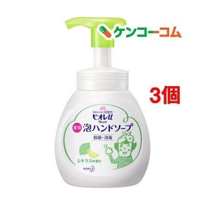 ビオレu 薬用泡ハンドソープ シトラスの香り ポンプ ( 250ml*3個セット )/ ビオレU(ビオレユー)
