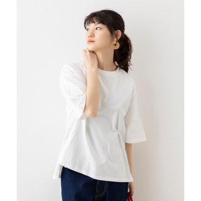 tシャツ Tシャツ 綿100%オーガニックコットン 無地 オーバー半袖Tシャツ
