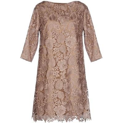 INTROPIA ミニワンピース&ドレス カーキ 38 ポリエステル 100% ミニワンピース&ドレス