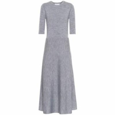 ガブリエラ ハースト Gabriela Hearst レディース ワンピース ワンピース・ドレス Seymore wool-blend maxi dress Heather Grey