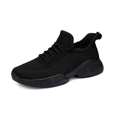 uubaris Women Trail Running Lightweight Mesh Tennis Sneaker Fashion Athletic Walking Shoes Black【並行輸入品】