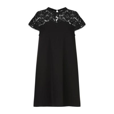 HOPE COLLECTION ミニワンピース&ドレス ブラック S ポリエステル 90% / ポリウレタン 10% ミニワンピース&ドレス