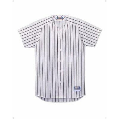 【メール便対応】ゼット ユニフォーム ストライプメッシュシャツ メンズ 野球 BU521-1119