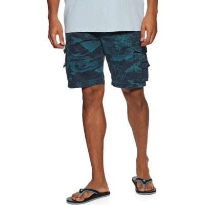 リップカール Rip Curl メンズ ショートパンツ カーゴ ボトムス・パンツ Trail Cargo Shorts Washed Navy