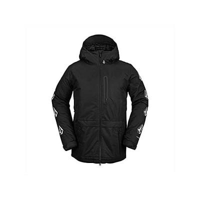 Volcom Men's Deadly Stones Insulated Snowboard Jacket, BLACK, XL